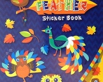 Darice Sticker Book- Birds of a Feather