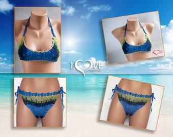 Crochet bikini - women swimwear - Beach Wear Summer Trends !  - Summer Trends | LoveKnittings