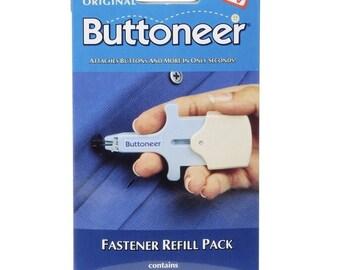 Avery Dennison The Original Buttoneer Fastening System Refill Pack-100/Pkg. NEW