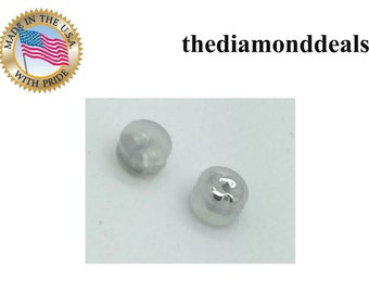 Light Weight Silicon Silver Earrning Stopper for all type of earrings