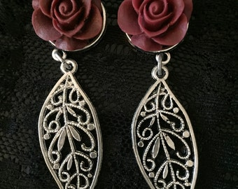 Silver Plated Leaf Gauges