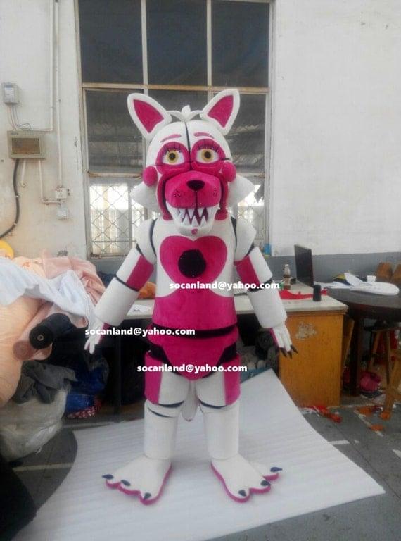 Halloween Fnaf Funtime Foxy Mangle By Cartoonmascotcostume