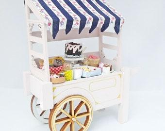 Handmade Sweet Cart for a Dolls House