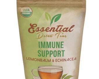Organic Immune Support Loose Tea Blend