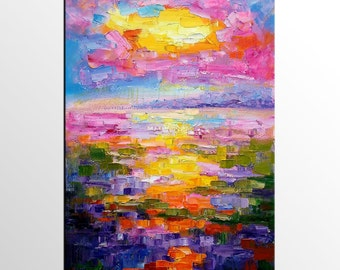 Landscape Painting, Canvas Painting, Large Oil Painting, Large Art, Canvas Art, Abstract Art, Large Art, Wall Art, Abstract Painting
