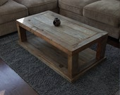 Coffee Table, Reclaimed Wood Coffee Table, Vintage Table, Rustic Table, Grey wood Table, Recycled Table, Weathered Wood Coffee Table