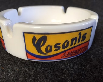 Vintage French ashtray Casanis Anisette