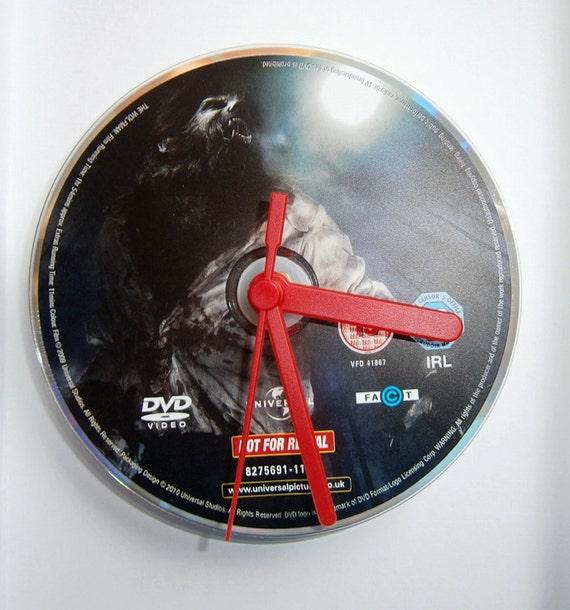 DVD Clock - The Wolfman - Benicio Del Toro Anthony Hopkins Emily Blunt New