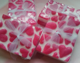 Love Spell Type Handcrafted Shea Butter Soap