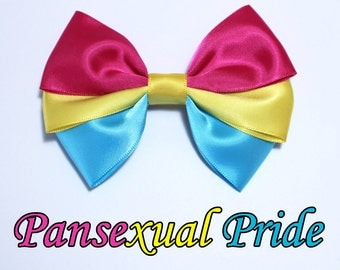 Pansexual Pride Bow