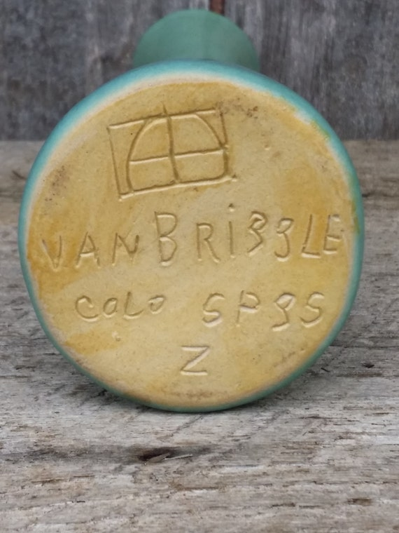 Van Briggle Colorado Springs Art Pottery Vase By