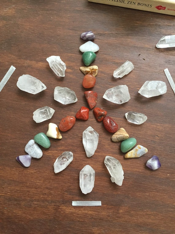 chakra how to clear with crystals selenite