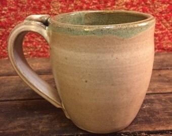 Large White Mug