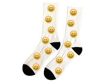 Emoji Socks Custom Personalized Choose from 100 Different Emoji
