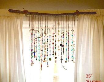 Bohemian Suncatcher for Your Curtains, Windows or Walls Sun Catcher
