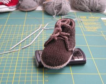 Tuto chausson en Français pour Chaussure de ville pour bébé 3-6 mois