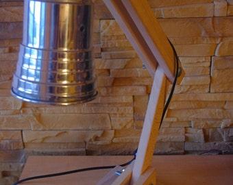 Desk lamp folding