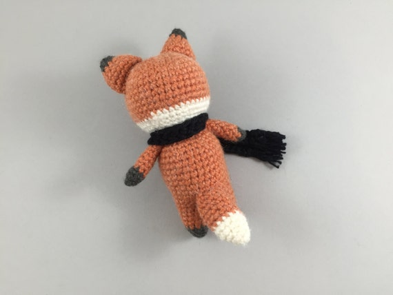 Crochet Fox Amigurumi Fox Crochet Woodland Creature Crochet