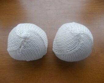 Knitted Knockers, false boobs, masectomy, prosthetics, women