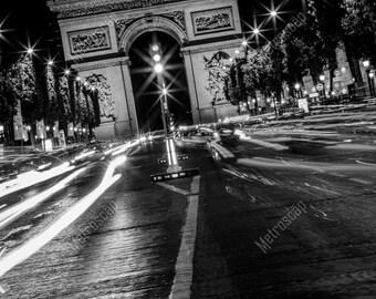 Black and White, Paris Photography, Paris France Photography , Fine Art Photography, Paris Pictures, Champs-Elysées
