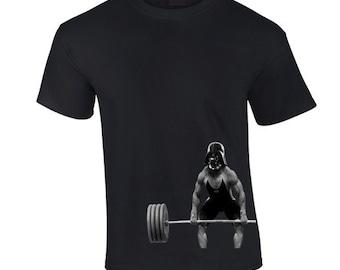 Darth Vader Lifting Mens tshirt lifts