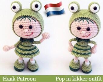 118NLY Haakpatroon - Pop in kikker outfit - Amigurumi PDF file by Stelmakhova Etsy