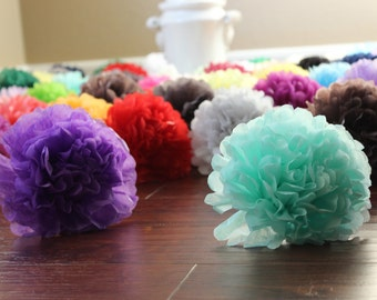 Tissue Paper Flowers *Pick your colors*