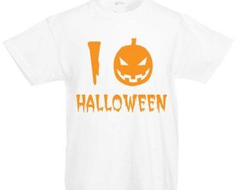 I Love Halloween (kids)