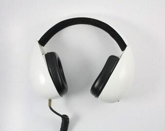 Vintage Space Age Zenith Stereo Headphones