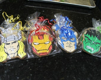 Avengers cookies 12