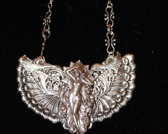 Vintage Angel Necklace