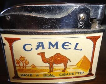 Vintage Camel Pequin Cigarette Lighter