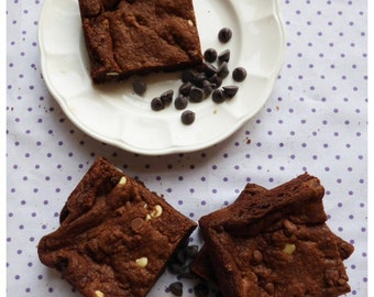 Triple Chocolate Cookie Squares (Box of 4 or 9 squares)