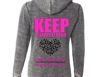 KEEP zip-up hoodie