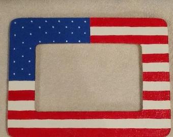 American flag frame/Military /USA/Patriotic Frame