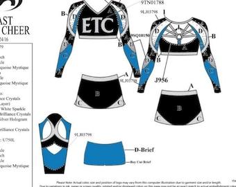 ETC crop top for Breanna Justus