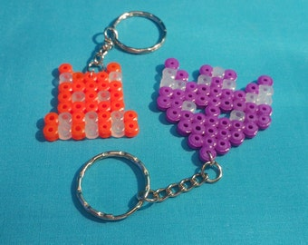 Space Invaders Keychain
