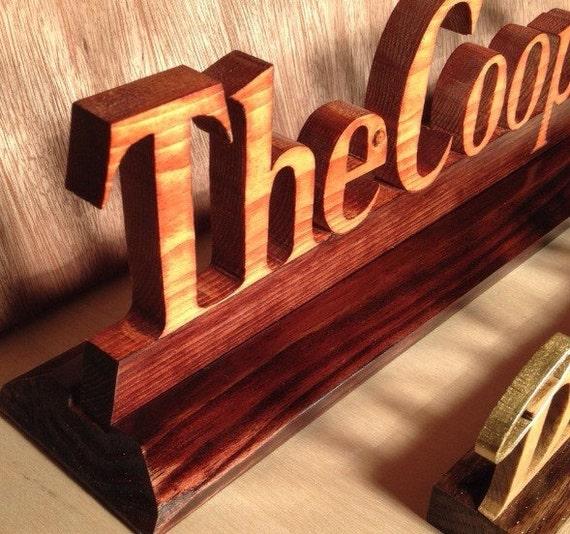 Name Plate Wood Name Plate Custom Name Plate