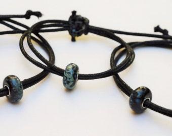 Beaded Pull Tie Bracelets
