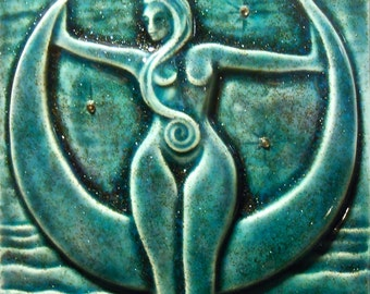 MOON GODDESS TILE