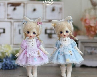 Nigo -bjd clothes ={ Meow Meow }= for 1/8 BJD; imda 1.7; Monday Child