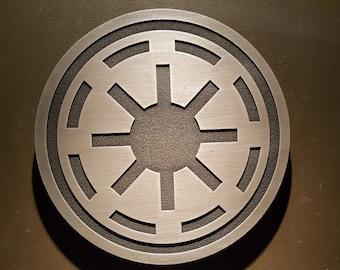 star wars galactic republic plaque sign