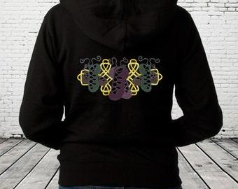 Irish Dancing Hoodie ~ Personalised Hoodie With Celtic Knotwork Design