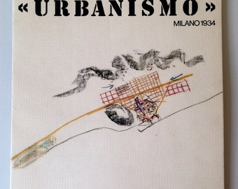Le Corbusier - Urbanismo Milano 1934 Archivio Bottoni 1983 ISRMO Exhibition Catalog