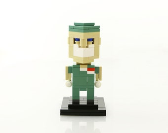 Medical Doctor in Scrubs LEGO® Figure (Unofficial)
