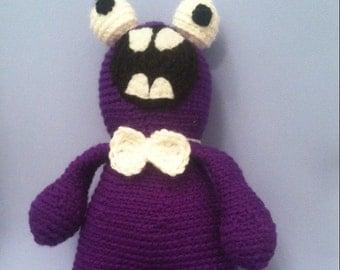 Alien monster plushie toy, crochet alien monster toy, alien toy stuffed monster, stuffed alien, monster crochet toy, amigurumi toy alien