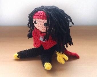 Vincent Valentine Amigurumi doll