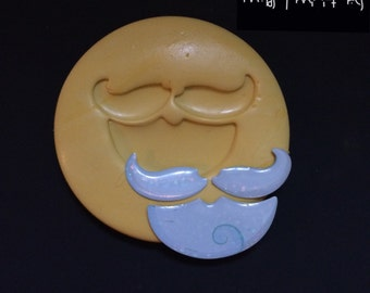 Santa's Beard Silicone Mold