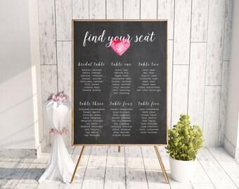 Wedding Seating Chart