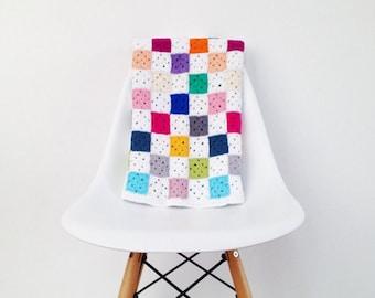Mini Granny Square blanket